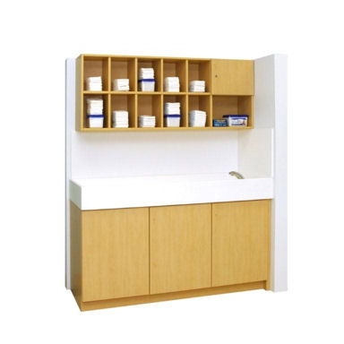 diaper changing table with sink commercial diaper changing tables vanities and hutches for day care centers and preschools the hatteras collection
